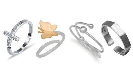 Anelli da donna Van Amstel in argento disponibili in vari modelli