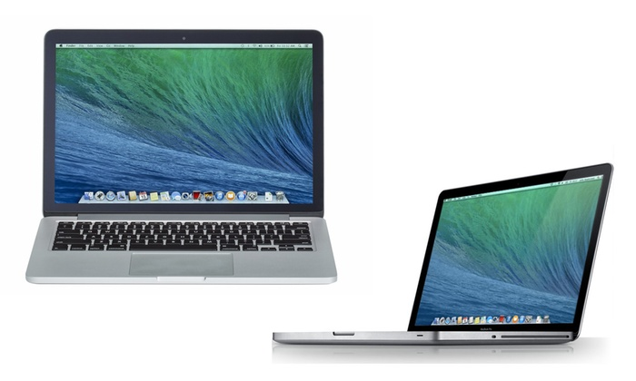 apple macbook pro i5 i7 reconditionn groupon. Black Bedroom Furniture Sets. Home Design Ideas