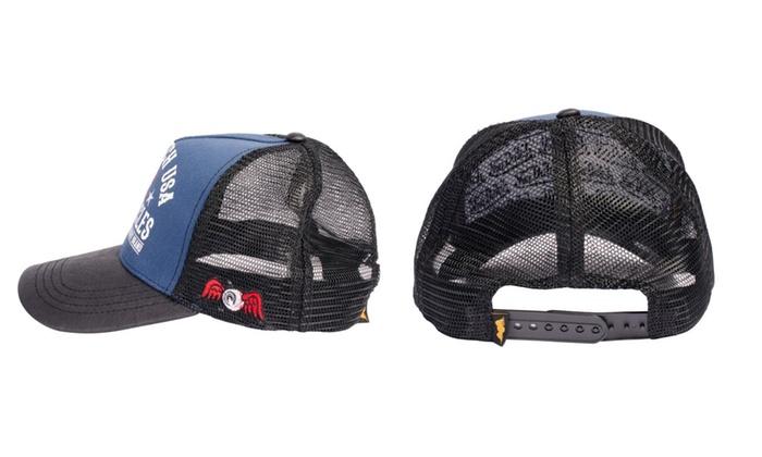 **BRAND NEW /& IN STOCK** VON DUTCH BASEBALL CAP PETER BLACK