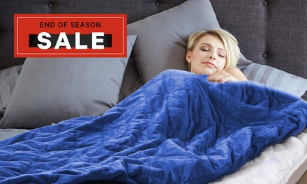 for a Weighted AntiAnxiety Gravity Blanket Don't Pay up to $239.99