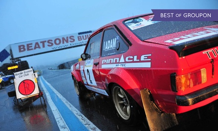 Grant Construction Rally: Adult or Family Ticket, 12 February at Knockhill Racing Circuit (Up to 50% Off)