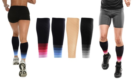 XTF Sports Compression Calf Sleeves (1 Pair)