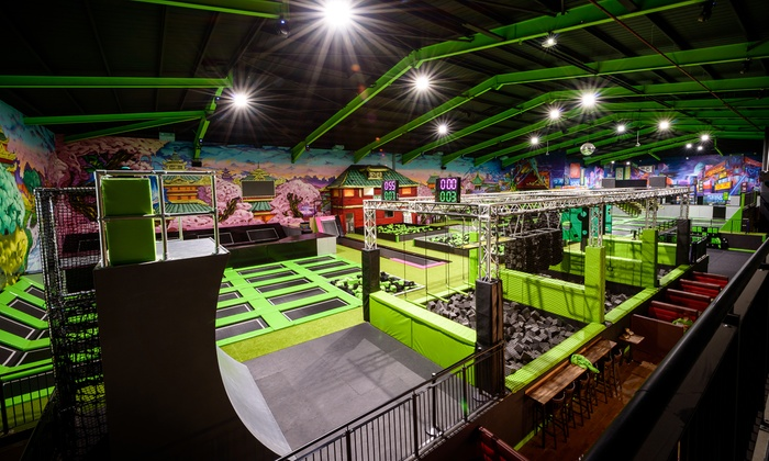 One- or Two-Hour Trampoline Park Access for Up to Four at Flip Out Brent Cross (Up to 33% Off)