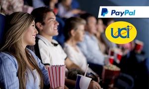 UCI KINOWELT: 2 Kinogutscheine für alle 2D-Filme inklusive Überlänge und Loge in der UCI KINOWELT (61% sparen*)