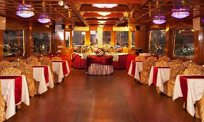 Falcon Oasis - Dubai: Two-Hour Creek Dhow Cruise for One Child or Up to Two Adults at Falcon Oasis (Up to 60% Off)