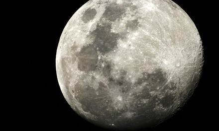 $12 for One Acre of Land on the Moon Package, Redeemable Online (Up to $48.45 Value)