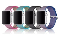 Woven Nylon Bracelet Strap Band for Apple Watch from AED 79 (Up to 64% Off)