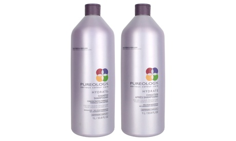 Pureology Hydrating, Pure Volume, or Perfect 4 Platinum Shampoo & Conditioner