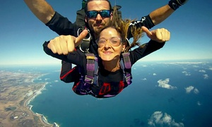 Australian Skydive: 12,000 Feet Tandem Skydive on a Weekday ($249) or Weekend ($269) with Australian Sky Dive, Torquay ($399 Value)