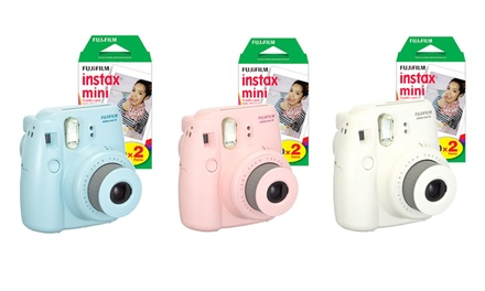 Fujifilm Instax Mini 8 Instant Film Camera with 20 Instant Film Sheets