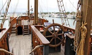 Hawaii Pirate Ship Adventures: Day or Night Pirate Ship Cruise from Hawaii Pirate Ship Adventures (Up to 54% Off). Three Options Available.