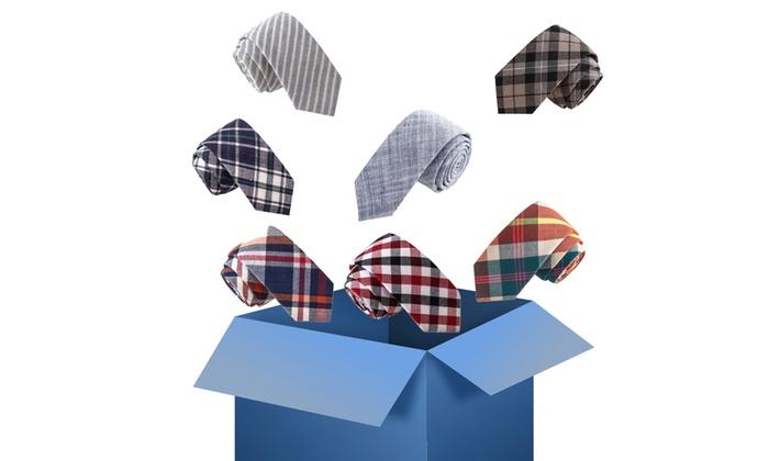 Men's Skinny Tie Mystery Deal