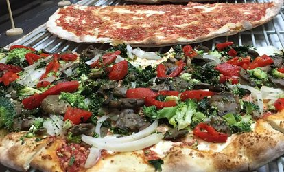 <strong>Pizza</strong> and Garlic Knots at Lisa's Luna <strong>Pizza</strong> (Up to 41% Off)