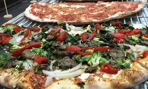 Lisa's Luna Pizza: Pizza and Garlic Knots at Lisa's Luna Pizza (Up to 44% Off). Four Options Available.