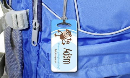 Up to Four Personalised Bag Tags from Dinkleboo (Up to 72% Off)