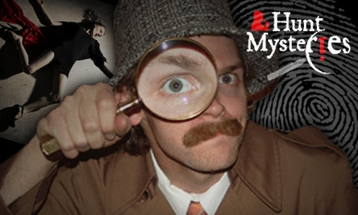 Hunt Mysteries - Multiple Locations: $15 for Two Tickets to a Murder-Mystery Show at Hunt Mysteries ($30 Value)
