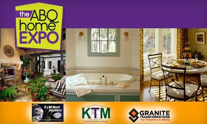 The ABQ Home EXPO - Fairgrounds Addition: $7 for Two Tickets to the ABQ Home EXPO on October 23 and 24 (Up to $14 Value)