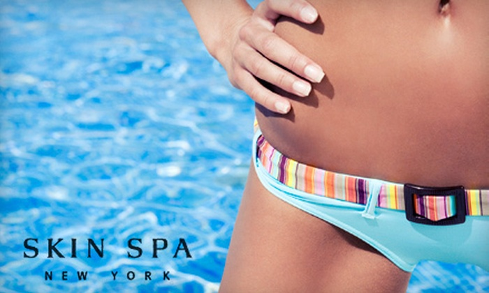 The Skin Spa - Multiple Locations: One or Three Women's Brazilian Bikini Waxes, or $40 for $100 Worth of Waxing Services at The Skin Spa