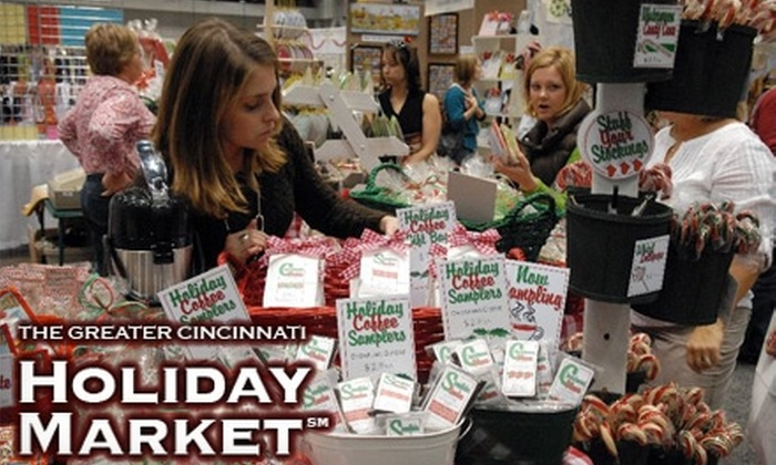 Hart Productions, Inc. - Cincinnati: $8 for Two Tickets to the Greater Cincinnati Holiday Market at the Duke Energy Convention Center ($16 Value)