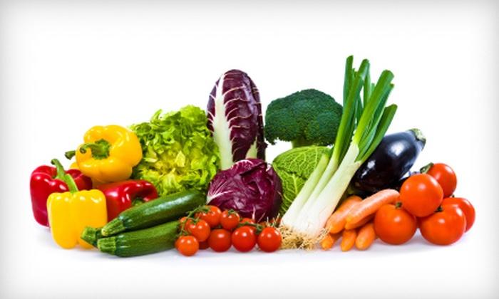 Door to Door Organics: $13 for Bitty Box of Organic Produce from Door to Door Organics ($26.72 Value)