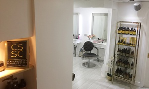 Clair Swinscoe Studio Couture: Wash and Blow-Dry or Half-Head Highlights with Conditioning Treatment at Clair Swinscoe Studio Couture (Up to 57% Off)