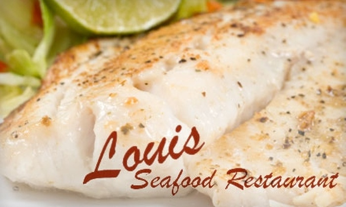 Louis Seafood Restaurant - Morris Heights: $15 for $30 Worth of Italian Fare, Seafood, and Drinks at Louis Seafood Restaurant