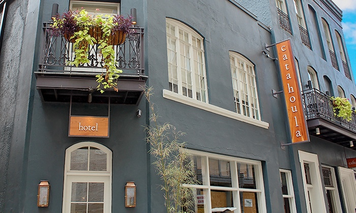 Hip Hotel with Specialty Cocktails in New Orleans