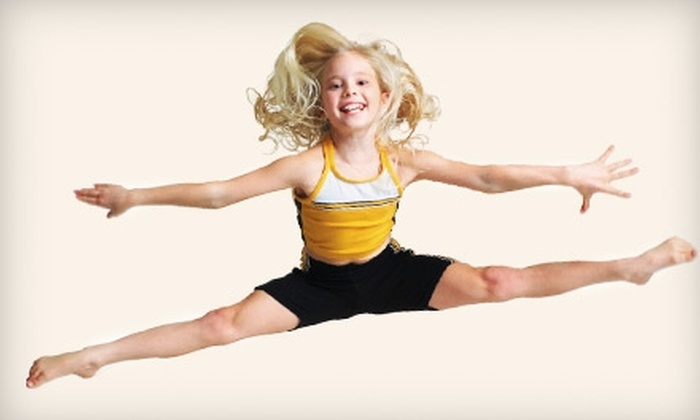 Mega Gymnastics Tumble and Cheer - Evansville: $25 for Four Weeks of Gymnastics Classes at Mega Gymnastics Tumble and Cheer ($95 Value)
