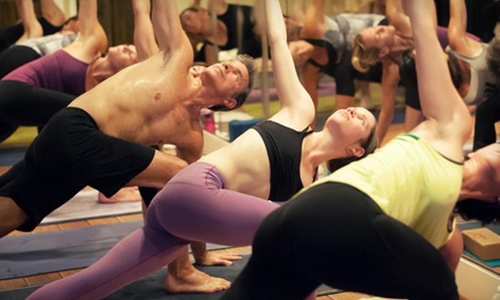 Powerflow Yoga - Multiple Locations: 10 or 20 Hot Yoga Classes at Powerflow Yoga (Up to 80% Off)