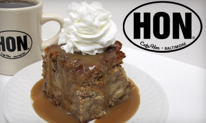 Cafe Hon - Hampden: $12 for $25 Worth of Home-Style Cooking at Cafe Hon