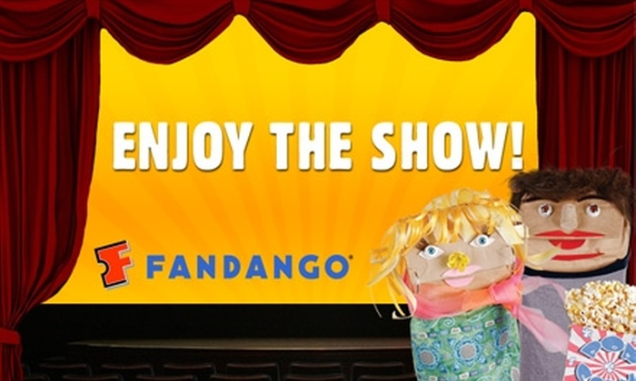 Fandango: $4 Movie Ticket on Fandango.com (Up to $12 Value)