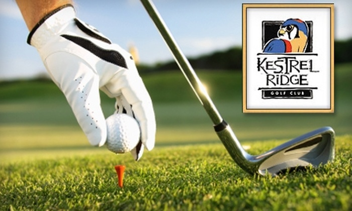 Kestrel Ridge Golf Club  - Columbus: $16 for 18 Holes of Golf, Cart Rental, and Two Driving-Range Tokens at Kestrel Ridge Golf Club