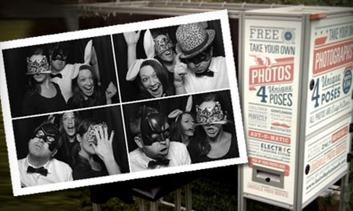 Magnolia Photo Company  - Raleigh / Durham: $500 Four-Hour Photo Booth Rental Package from Magnolia Photo Company ($1,395 value)