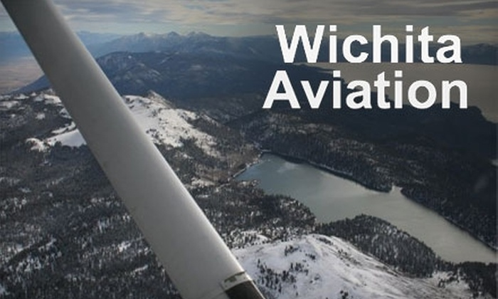 Wichita Aviation - Southwest Village: $49 for an Introductory Flight from Wichita Aviation ($99 Value)