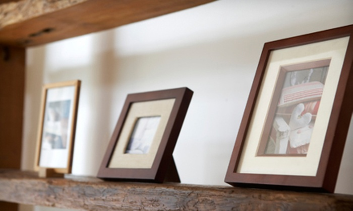 Framing Establishment and Fairfax Gallery - Fairfax: Custom Framing at Framing Establishment and Fairfax Gallery (Up to 63% Off). Two Options Available.