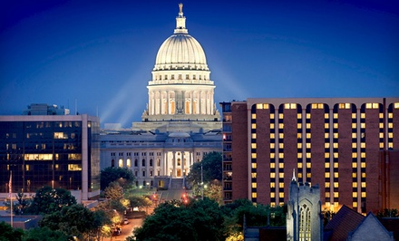 1-Night Stay for Two Adults and Up to Two Kids - The Madison Concourse Hotel and Governors Club in Madison