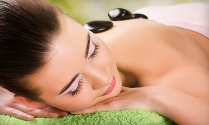 Caesar Spa - Multiple Locations: $46 for a Spa Package with Facial, Hot-Stone Massage, and Paraffin Foot Treatment at Caesar Spa (Up to $170 Value)