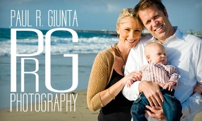 Paul R. Giunta Photography - Redondo Beach: $89 for One-Hour, On-Location Photo Session from Paul R. Giunta Photography ($400 Value)