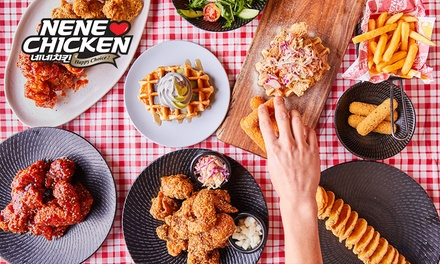 $2 for 20% Off the Total Bill (Minimum Spend of $20) at NeNe Chicken, Five Locations