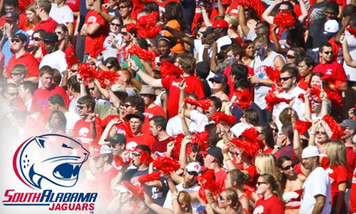University of South Alabama - Multiple Locations: $15 for Two Football Tickets and Four Basketball Tickets to Games at University of South Alabama