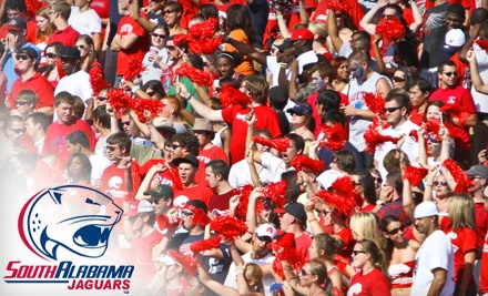 University of South Alabama vs. Lamar University at Ladd-Peebles Stadium on Sat., Sep. 10 at 4:00PM: Reserved Seating - University of South Alabama in Mobile