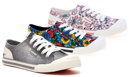 Womens Rocket Dog Lace-Up Sneakers