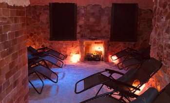 Up to 57% Off Salt Cave Sessions at Glen Cove Salt Cave