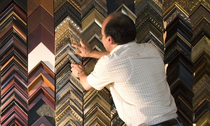 Art & Frame Expert, Inc - Princeton Junction: $100 for $200 Groupon — Art Frame Source