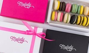 Melody Naturalne Lody: Słodkie przysmaki: 6 sztuk makaroników za 17,99 zł i więcej opcji w Melody Naturalne Lody – 2 lokalizacje (do -34%)