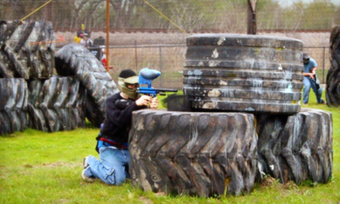 Madddogz - Waxahachie: Paintball Outing for Two or Four People or Private Paintball Party at Madddogz in Waxahachie