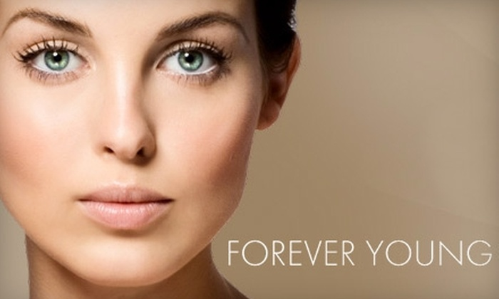 Forever Young Laser and Spa - McKenzie Towne: $119 for Three Laser Hair-Removal Treatments at Forever Young Laser and Spa