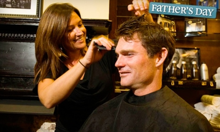 Old South Barber Spa - Charleston: $29 for an Old South Signature Haircut and Stimulating Scalp Massage at Old South Barber Spa ($58 value)