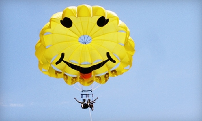 East Coast Parasail - Cape May: $70 for a Tandem Parasailing Trip from East Coast Parasail in Cape May ($140 Value)