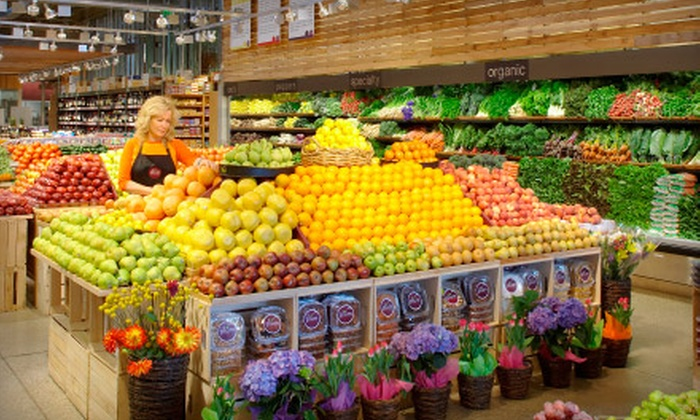 Plum Market - Abbot: $15 for $30 Worth of Groceries, Vitamins, and Home Goods at Plum Market